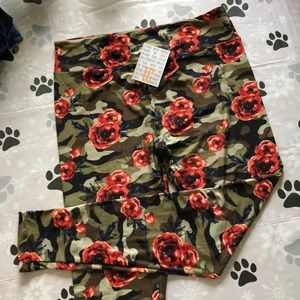 LuLaRoe TC New Leggings- United And Strong - Camo